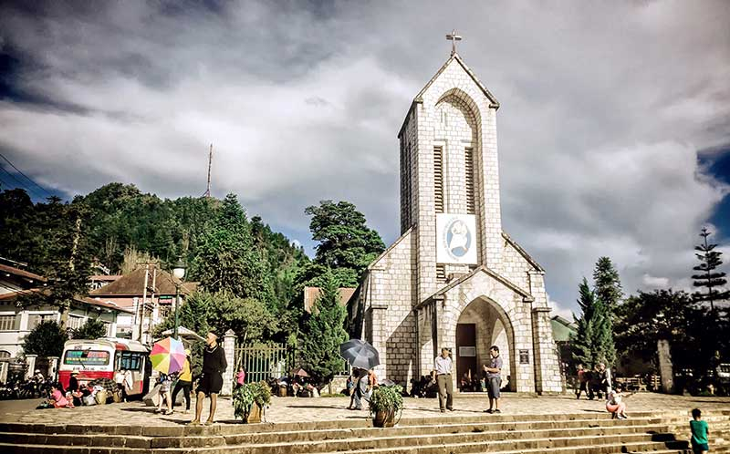 Eglise Sapa Vietnam