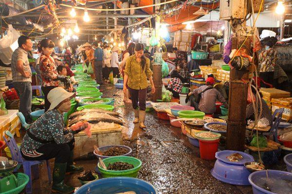 Fruits de mer baie Halong