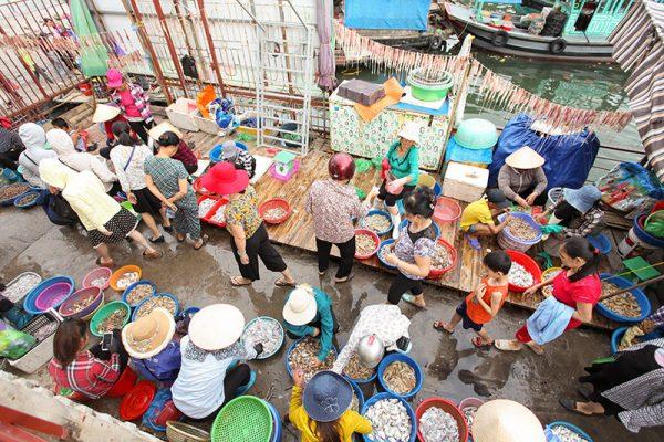 Marché Hon Gai Vietnam