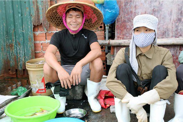 Vendeur local Hon Gai