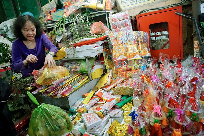 Visite d'un marché vietnamien