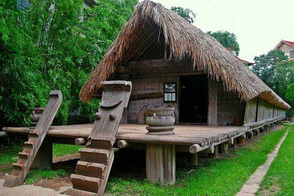 Maison typique Hanoi Vietnam
